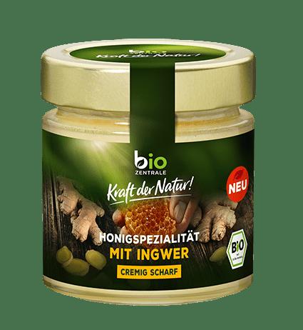 biozentrale Honig spezialität mit Ingwer