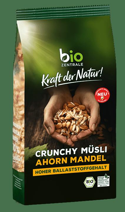 crunchy muesli ahorn mandel biozentrale