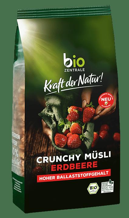 Crunchy Müsli Erdbeere biozentrale