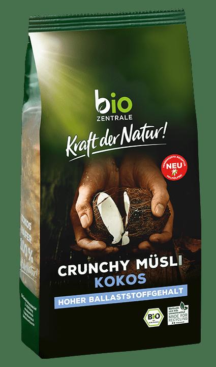 Crunchy Muesli Kokos bio Biozentrale