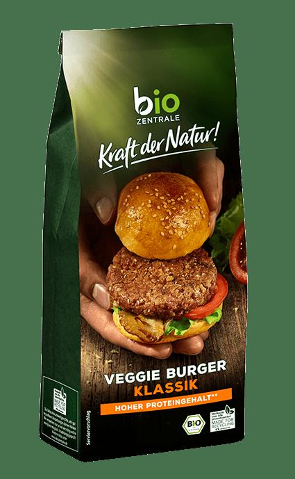 Biozentrale Veggie Burger Klassik