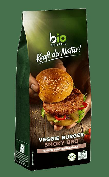 biozentrale Veggie Burger Smoky BBQ