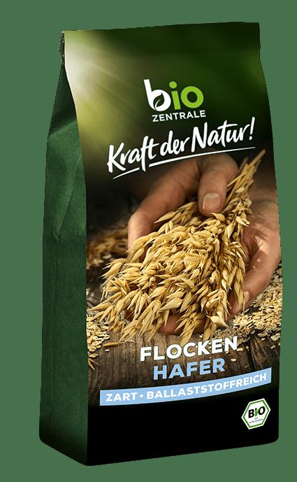biozentrale Getreideflocken Haferflocken fein