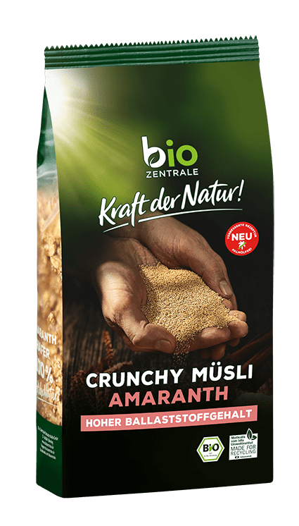 biozentrale Crunchy Müsli Amaranth